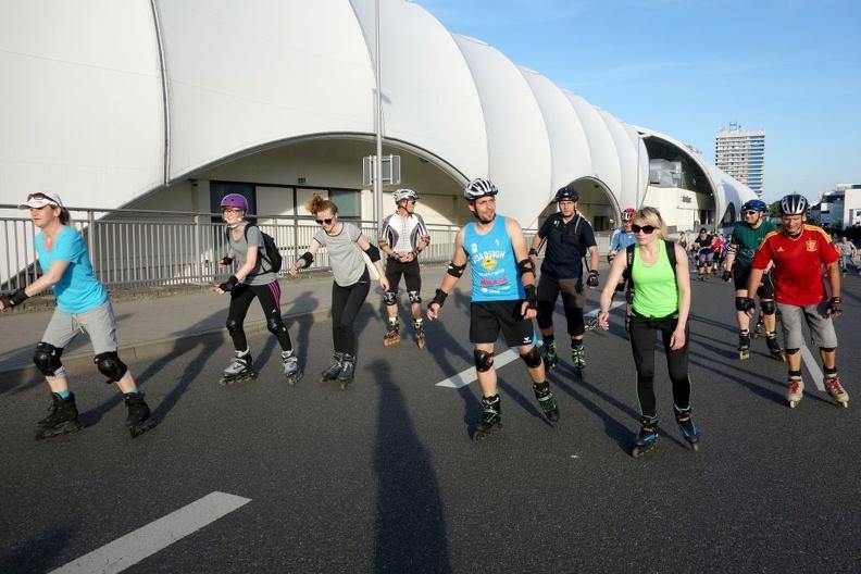 Skatenight Ludwigshafen nach Niedernfeld 2017
