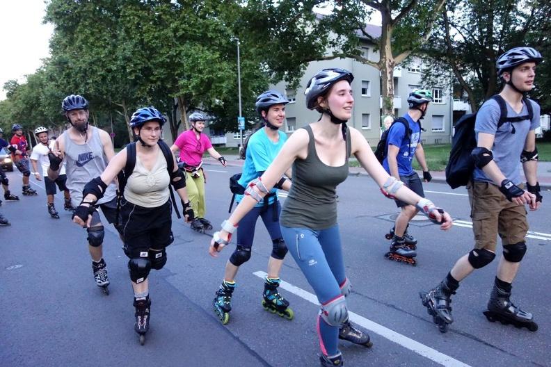 Skaten am 23. August in LU